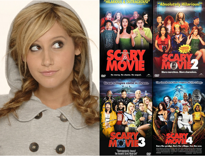 """Ashley Tisdale será la protagonista de """"Scary Movie 5″"""