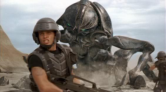 """Los bichos cósmicos de """"Starship Troopers"""" vuelven a la carga."""
