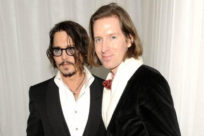 Johnny Depp le da el sí quiero a Wes Anderson