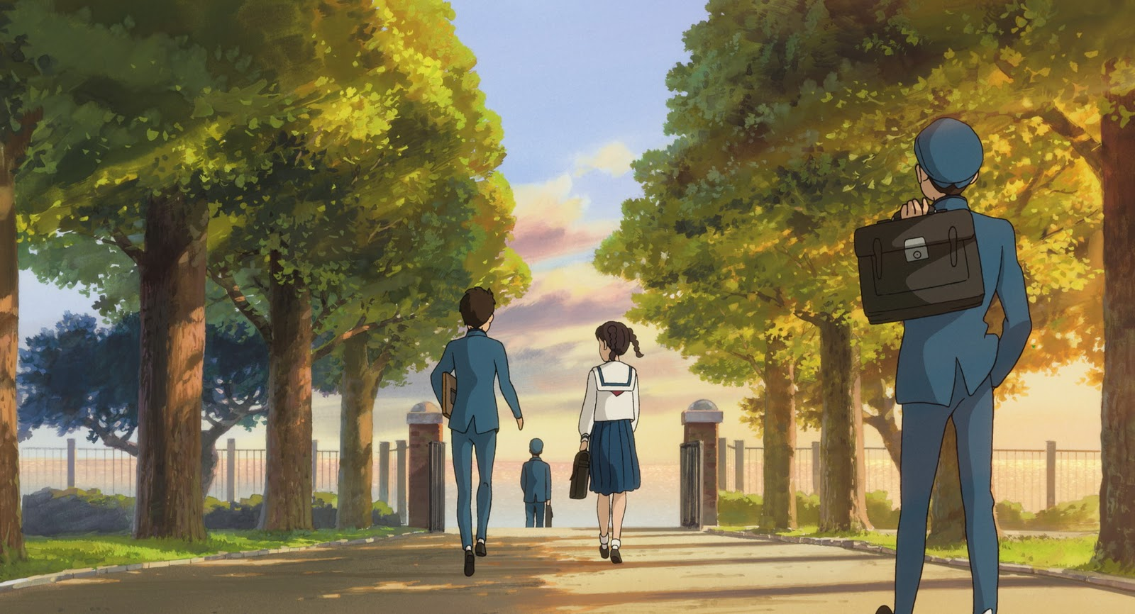 "Tráiler de ""From Kokuriko Hill"", la última película de Studio Ghibli"