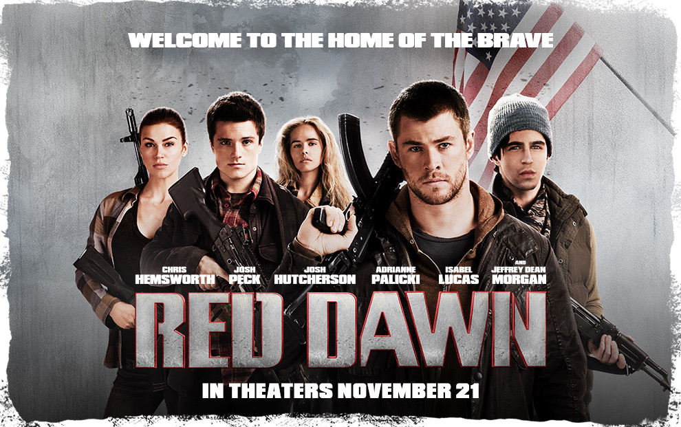 "Primer tráiler de ""Red Dawn"" con Chris Hemsworth"