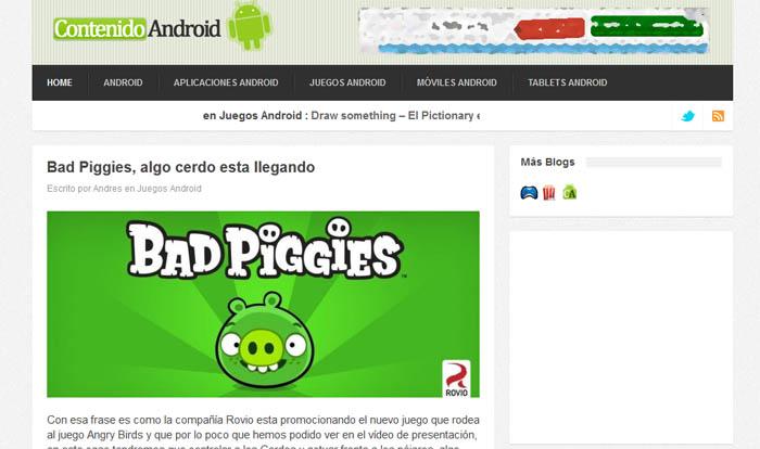ContenidoAndroid, tu nuevo blog de Android