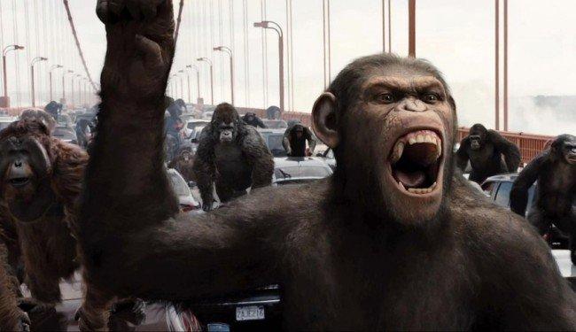 """""""El origen del planeta de los simios 2"""", entre Bayona y Fresnadillo"""