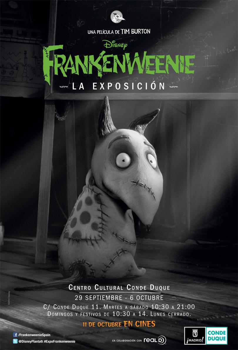 El arte de Frankenweenie: la exposición