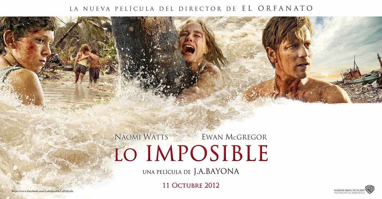 """""""Lo imposible"""" arrasa en la taquilla española"""
