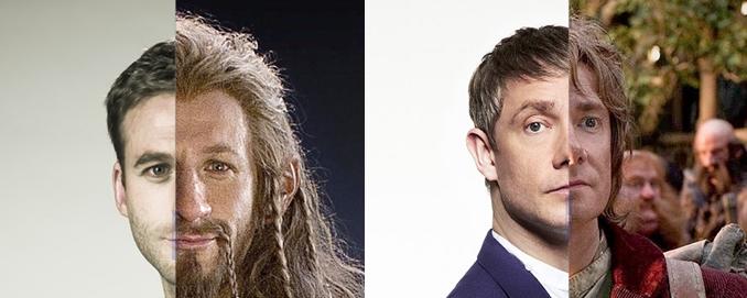"""La excelente labor de maquillaje en """"El Hobbit"""""""