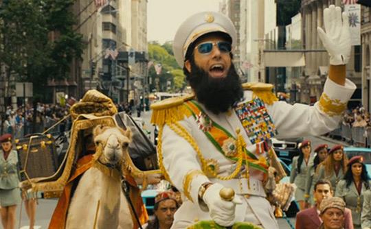 """Con permiso del Admiral General Aladeen, ahí va mi crítica de """"El dictador"""""""