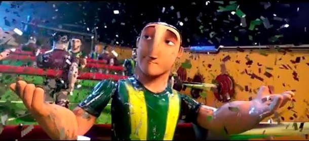 Teaser trailer de 'Futbolín', el primer film animado de Campanella