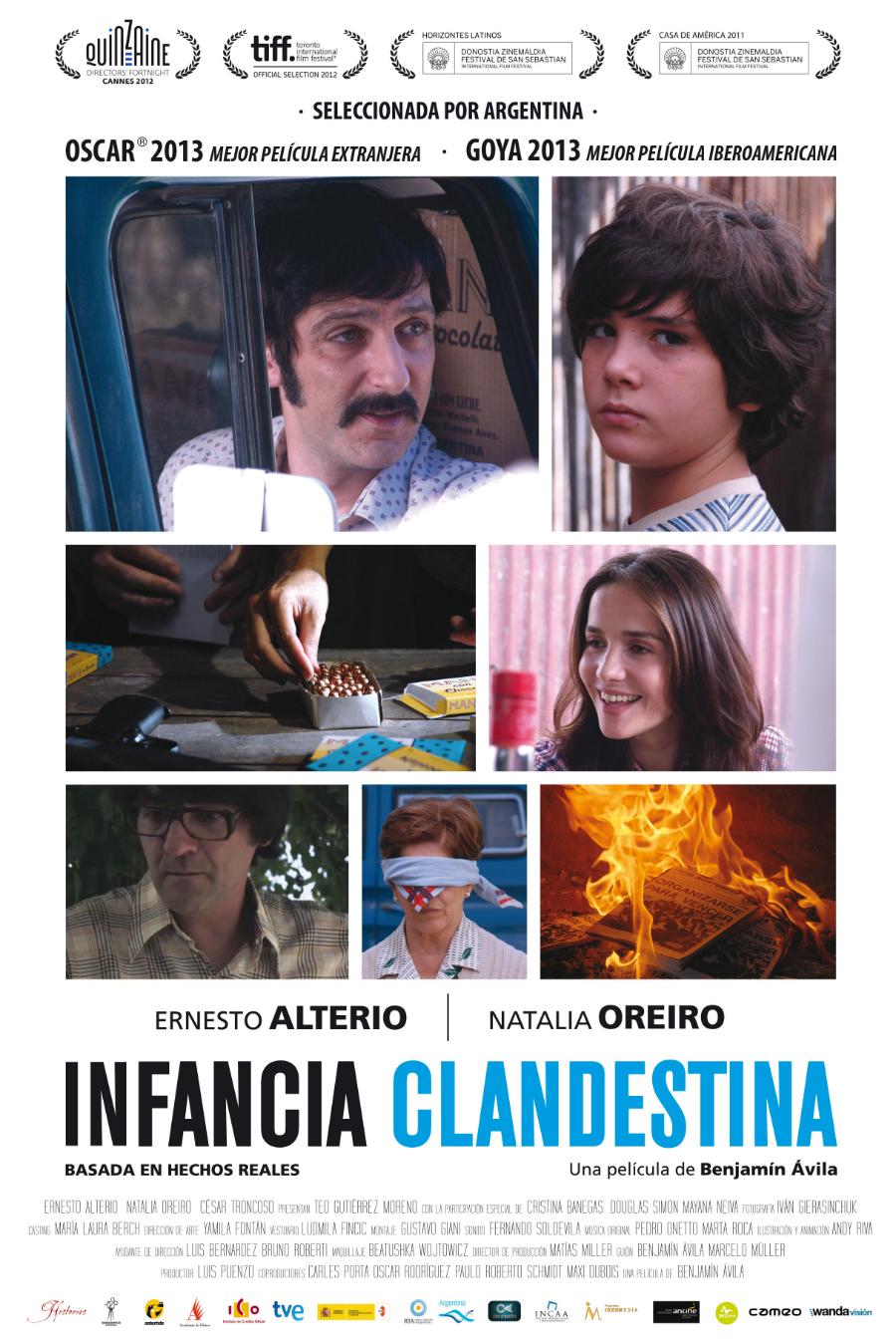 'Infancia clandestina': trailer y más
