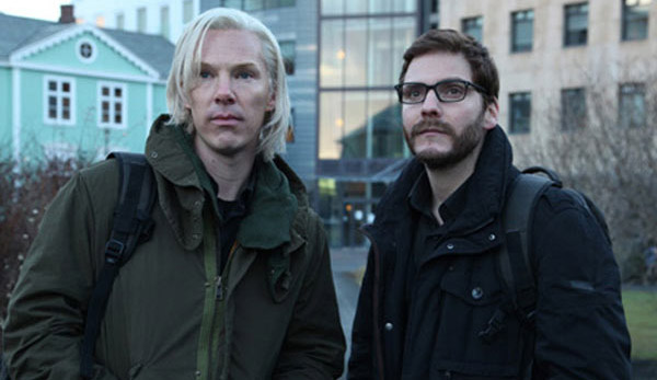 Benedict Cumberbatch como Julian Assange: primer vistazo