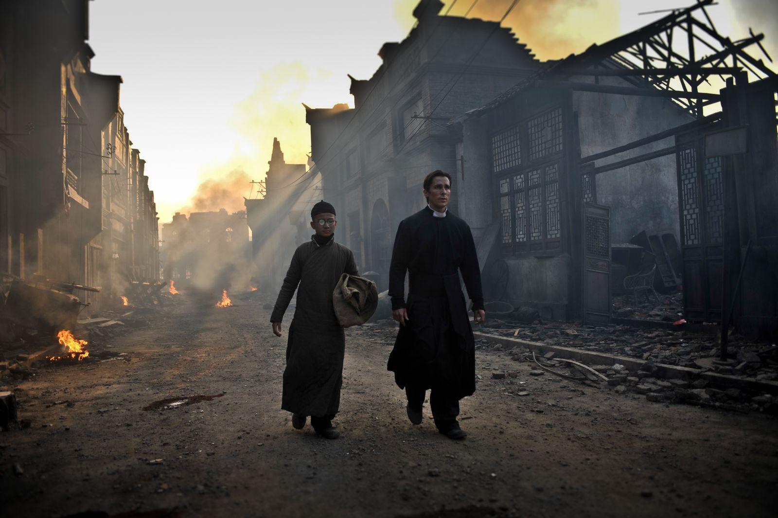 """""""Las flores de la guerra"""": Christian Bale y Zhang Yimou ya tienen fecha de estreno."""