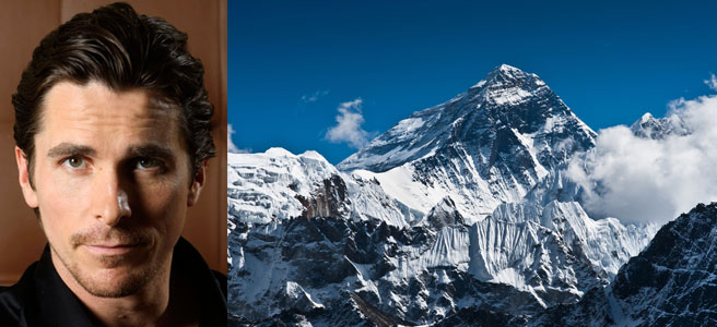 "Christian Bale se mete a escalador en ""Everest"""